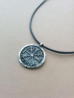 925 Sterling Silver Viking Vegvisir Pendant