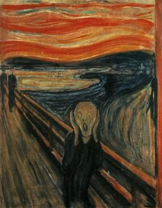 one of my favourites for sure. i love waking up, looking at my copy and mimicking this every morning... -The Scream 1893