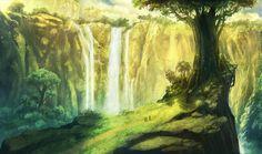 The Great Tree by JonasDeRo.deviantart.com on @deviantART