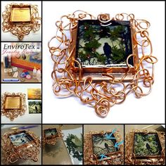 The Wire Worked Bezel and Jewelry Resin