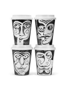 Coffee Cup Art by Jess Giambroni