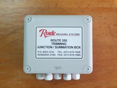 550 Junction Box Connection for 1 indicator and 4 loadcells Sealed to IP 65 standards Robust, corrosion resistant enclosure Size: x (exluding Glands) Junction Boxes, Seal, Connection, Harbor Seal