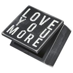 Love You More Box Si