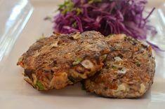Croquetas de Jurel Salmon Burgers, Muffin, Breakfast, Ethnic Recipes, Easy, Food, Vegetables, Meals, Sweets