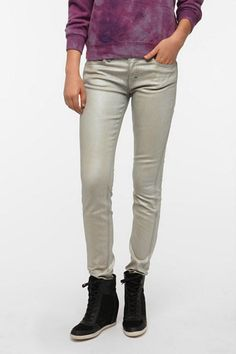 Hi Ho Silver! 6 Metallic Jeans That Will Be Your New Nighttime Staples