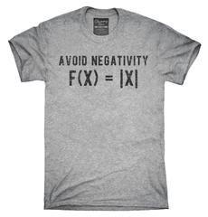 Avoid Negativity Math T-Shirt, Hoodie, Tank Top