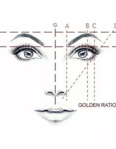 Amazon.com: Golden Mean CALIPERS Eyebrow Microblading Permanent Makeup Ratio Measure Tool Fibonacci Gauge | Stainless Steel (Gold): Home Improvement