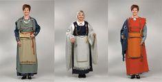 Finnish Dresses Merovingian, Viking Age, Medieval Clothing, Iron Age, Anglo Saxon, 14th Century, Finland, Vikings, Costumes