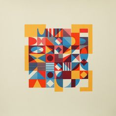 Anna Taratiel | Shapes and Shapes Serigraph 05