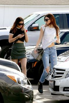 Celeb Diary: Kendall & Kylie Jenner in West Hollywood