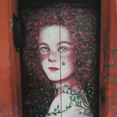 Street art, via del Pratello, Bologna, Italy