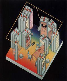 ETTORE SOTTSASS, THE NEW DOMESTIC LANDSCAPE, MUSEUM OF MODERN ART, 1972