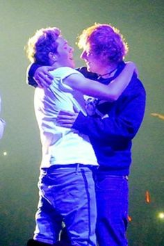 Ed and Niall Horan:)