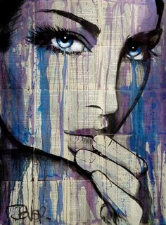 "Saatchi Art Artist LOUI JOVER; Drawing, ""indica"" #art"