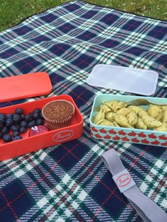 Mother in London shows us how to use our new snack box - perfect for picnicking in the park!