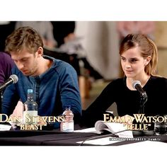 Emma Watson in 'Beauty and the Beast' table read featurette