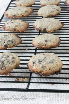 Grain Free Sugar Free Low Carb Chocolate chip cookie!