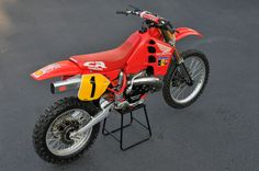 Eric Geboers 1989 Factory Honda RC500
