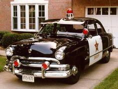 1952 Ford Sheriff patrol car.....