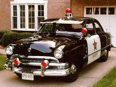 1952 Ford Sheriff patrol car.....