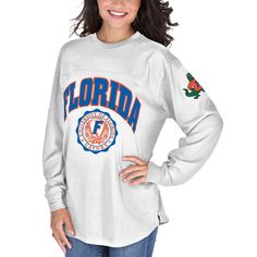 Florida Gators Women's Edith Long Sleeve T-Shirt - White