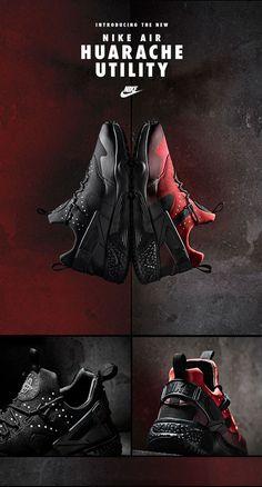 on sale e7dbf 3d0a4 Nike Air Huarache Utility Botas, Zapatos, Calzado Nike, Estilo, Deportes,  Calzas