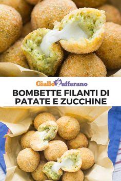 Arancini, Antipasto, Italian Recipes, Zucchini, Hamburger, Meal Prep, Buffet, Fries, Food Porn