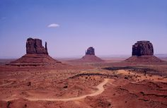 Standing Fas ~ Three sentinels stand watch Over the graves of Cowboys and movie stars Where the Navajo stand fast High Noon, I Passed, Gray Matters, Movie Stars, Monument Valley, Vietnam, Native American, Arizona, Navajo