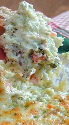 Broccoli & Pepper Jack Cheese Dip