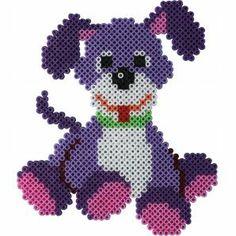 Hund Hama mini Bügelperlen