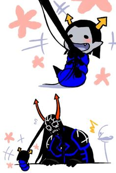 Equius is strong even when he grub!!!!!!!! D8