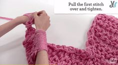 arm knitting for beginners, check it out at http://diyready.com/video-arm-knitting-for-beginners