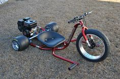 Drift Trike Frame, Custom Trikes, Toys For Boys, Boy Toys, Kick Scooter, Big Wheel, Kids Ride On, Mini Bike, Welding Projects