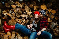 winter engagement pictures, engagement ideas