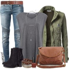 Military Jacket by wannabchef on Polyvore