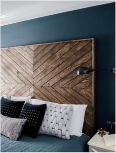 DIY Headboard EastCoastCreative More wood headboard king Massive Master Bedroom Makeover : The Weekender Series Bedroom Makeover, Furniture, Diy Home Decor, Home, Home Diy, Diy Master Bedroom Makeover, Home Bedroom, Master Bedroom Makeover, Home Decor