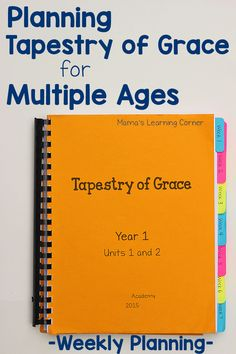 Planning Tapestry of Grace When You Homeschool Multiple Ages - take a peek at how I plan for Dialectic, Upper Grammar, & lower grammar each week!