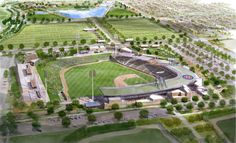 Spring Training '13: Cubs new Mesa Riverview stadium just a year away