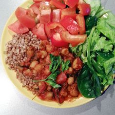 Tomaattinen kikhernekastike Bruschetta, Cool Kitchens, Feel Good, Salsa, Mexican, Ethnic Recipes, Food, Essen, Salsa Music