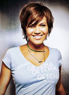 This is how I will cut my hair when i get to my goal weight! Until then, I'm letting it grow!