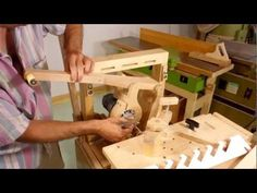 ▶ Making louvered shutters on the pantorouter - YouTube