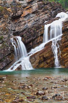 ✯ Cameron Falls - Waterton National Park - Alberta, Canada