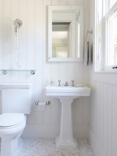 An amazing looking bathroom - a nightmare to keep clean though?!