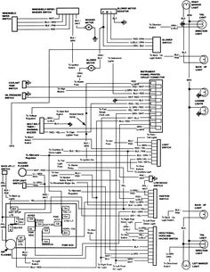 Nice Ford Harness Wiring Diagram 1988 Ford Ranger Wiring