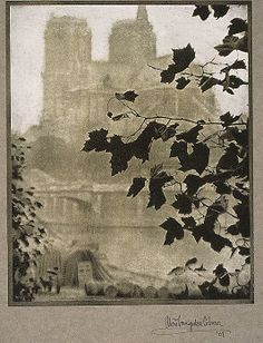 Alvin Langdon Coburn, (British, 1882–1966). Notre Dame, 1907. The Metropolitan Museum of Art, New York. Alfred Stieglitz Collection, 1933 (33.43.207) #paris