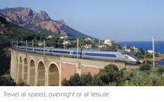 France ~ Flagship fleet of the SNCF, 'Train à Grande Vitesse' trains are one of France's great