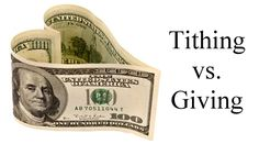 Tithing-vs-Giving - The New Testament leaves utter and profound silence with regard to teaching and promotion of tithing, unless you want to throw in Jesus' rebuke to the Pharisees, which is still in the context of O.T. law (Matthew 23:23;  Luke 11:42).  The other instance that people try cling to is found in Hebrews 7, which is not even about tithing, but rather about Jesus' role.  (Context is so very important!) http://www.lakehillsfmc.com/tithing-vs-giving/