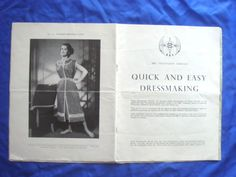 viBBC--QUICK-AND-EASY-DRESSMAKING-drafting-sewing-pattern-booklet Oct 1956 - March 1957