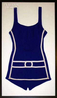 fe6091f2bd Vintage Swimsuits Get Framed! - Sally Lee by the Sea Coastal BlogBeach  House Decorating Vintage