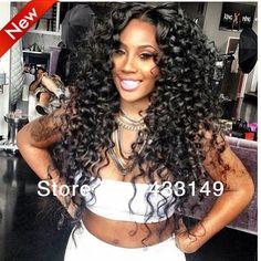 Virgin Unprocessed Human Hair Brazilian U Part Wigs Kinky Curly available in stock Black Hairstyles With Weave, Indian Hairstyles, Weave Hairstyles, Straight Hairstyles, Stylish Hairstyles, Gorgeous Hairstyles, American Hairstyles, Hairdos, Love Hair